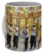 Bourbon Street Second Line New Orleans Coffee Mug