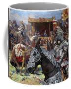 Bouvier Des Flandres - Flandres Cattle Dog Art Canvas Print - Knights Tournir Coffee Mug