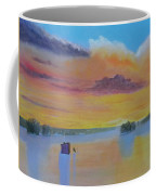 Bow Lake Ice Fishing Coffee Mug