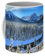 Bow River Valley View Coffee Mug