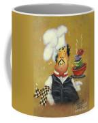 Bow Tie Chef Four Bowl Coffee Mug
