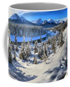 Bow Valley Mountains Coffee Mug