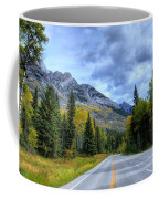 Bow Valley Parkway Banff National Park Alberta Canada Vi Coffee Mug