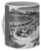 Morant's Curve Black And White Coffee Mug