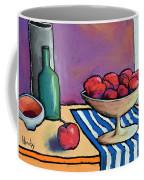 Bowl Of Apples Coffee Mug
