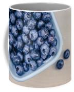 Bowl Of Fresh Blueberries Coffee Mug