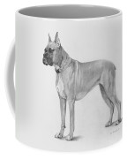 Boxer At Attention Coffee Mug