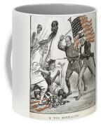 Boxer Rebellion Cartoon Coffee Mug
