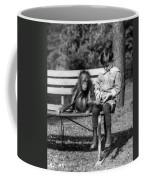 Boy And Orangutan Coffee Mug