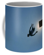 Boy Diving Coffee Mug