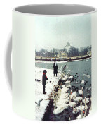 Boy Feeding Swans- Germany Coffee Mug