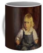 Boy In Blue Overalls Coffee Mug by Robert Henri