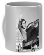 Boy In In Go-cart, C.1940-30s Coffee Mug