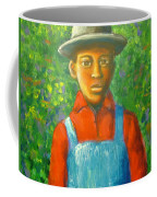 'boy In The Woods' Coffee Mug