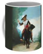 Boy On A Ram Coffee Mug