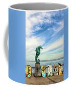 Boy On The Seahorse Coffee Mug