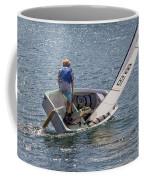 Boy Sailing Coffee Mug