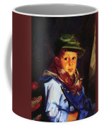 Boy With A Green Cap Also Known As Chico 1922 Coffee Mug