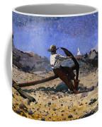Boy With Anchor Coffee Mug