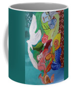 Boy With Empanadilla In His Hand Coffee Mug