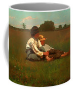 Boys In A Pasture Coffee Mug