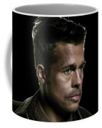 Brad Pitt As Lt Aldo Paine Publicity Photo The Inglourious Bastards 2009 Color Added 2016 Coffee Mug