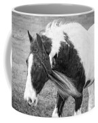 Braids In Mane B/w Coffee Mug