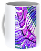Brain Coral Abstract 4 In Purple Coffee Mug