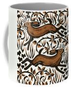 Bramble Hares Coffee Mug