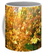 Branch Of Autumn Leaves Coffee Mug