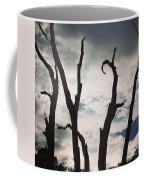 Branch Silouettes On Skeleton Beach Coffee Mug