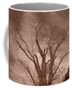 Branches Against Sepia Sky H   Coffee Mug