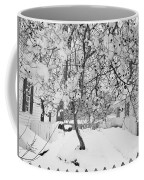 Branches In Snow Coffee Mug