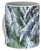 Branches In Winter Season With Fresh Fallen Snow Coffee Mug