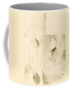 """Brandes And Le Bargy In """"cabotins"""" (brand?s Et Les Bargy Dans """"cabotins"""") Coffee Mug"""