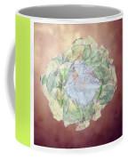 Brass Flower Coffee Mug