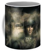 Brave Army Pinup Coffee Mug
