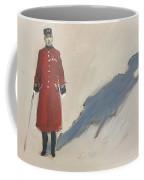 Bravery Has A Shadow - The Chelsea Pensioner  Coffee Mug