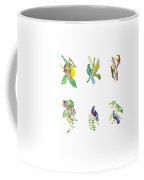 Brazilian Tropical Birds Coffee Mug