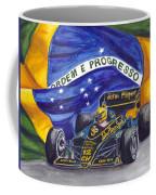 Brazil's Ayrton Senna Coffee Mug