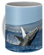 Breach Near Maui I Coffee Mug