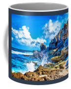 Breakers On The Rocks At Kenridgeview - On - Sea L B Coffee Mug