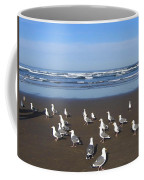 Breakfast At Cannon Beach Coffee Mug