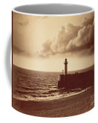 Breakwater At Sete Coffee Mug