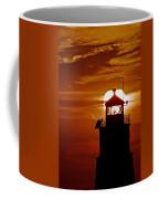Breakwater Light Sunset Coffee Mug