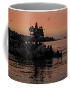 Breakwater Sunset Coffee Mug