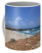 Breathtaking View Of Daimari Beach In Aruba Coffee Mug