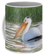 Breeding American White Pelican On Lower Sunshine Coffee Mug