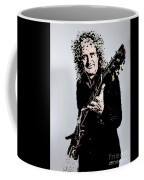 Brian May Of The Rock Group Queen Coffee Mug