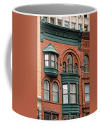 Brick And Green Coffee Mug